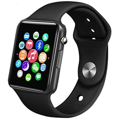 DUMXY Bluetooth Smartwatch, Fitness Tracker Sport Uhr Smart Watch, IP68 Wasserdicht Herzfrequenz Blutdruckmessung Blutsauerstoff Monitor Schrittzähler Geeignet iOS Android