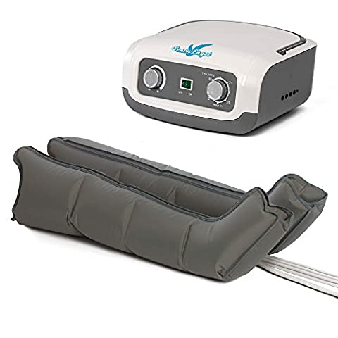 VEIN ANGEL air compression massage machine :: sequential gradient leg massager with 4 air cushions :: easy handling and top customer