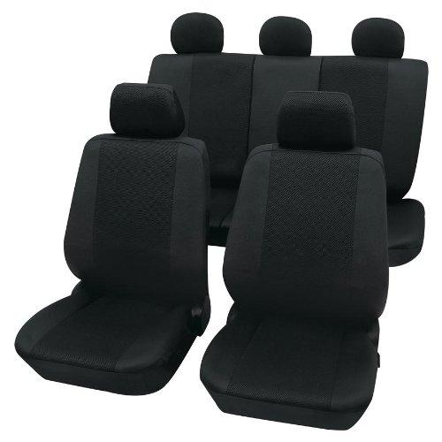 Preisvergleich Produktbild Eco Class Sydney schwarz 11 teilig Sitzbezug Schonbezüge Schonbezug Autoschonbezug Sitzbezüge