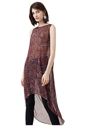 mango-flowy-print-shirts-blouse-size12-colorwine