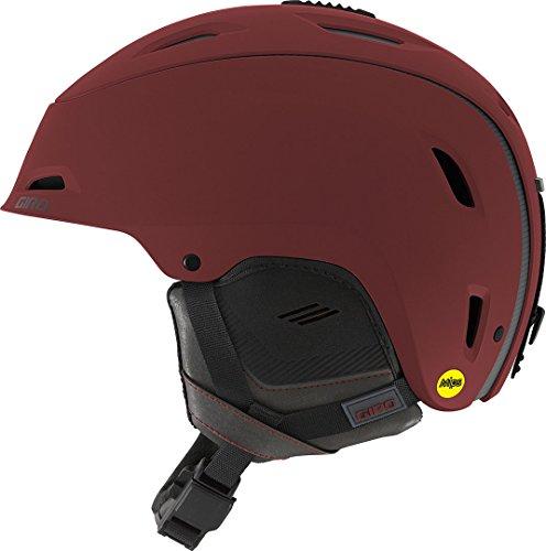 GIRO RANGE MIPS Helm 2018 matte maroon mountain division, L (Range Ausrüstung)