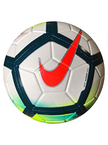 Nike LL NK Strk Balón de Fútbol, Blanco/(White/Turquoise/Seaweed/Total Orange), 4