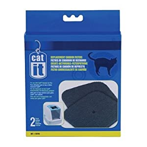 Cat It Hooded Cat Pan Replacement Carbon Filters from Hagen