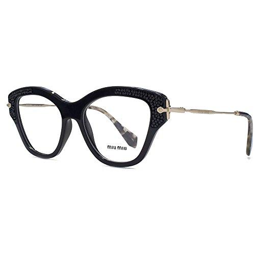 miu-miu-mu-07ov-brille-in-schwarz-mu-07ov-1ab1o1-52-52-clear