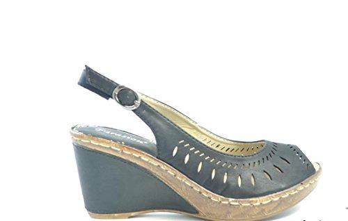 Dimensioni modelli diversi sandali delle donne 37-41, donne Mules zoccoli 38 39 Schwarz Modell 2