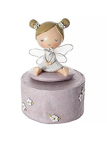 Fairy Music Box for Baby or Children Ideal Baby-Shower Christening Gift for Girl