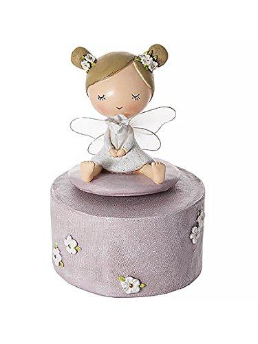 Wunderschöne Fee Spieluhr – ideals für Baby Mädchen oder Kleinkinder zur Geburt oder Geburtstag