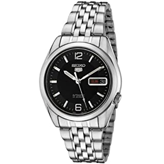 Seiko Men's Analogue Automatic Watch with Stainless Steel Strap SNK393K1 (B000MFS3ZC) | Amazon Products