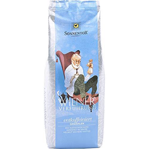 Sonnentor Bio Entkoffeinierter Kaffee gemahlen Wiener Verführung (2 x 500 gr)