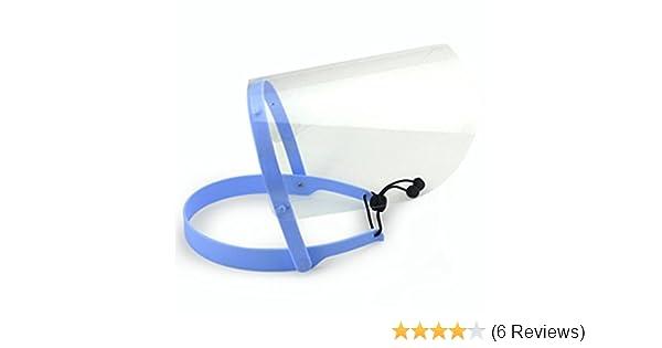 Gesichtsschutz Abnehmbarer Durchsichtiger Kunststoff-Schutz Anti-Fog W//10 Visier