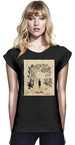 Baumwolle Rolled Sleeve Shirt (Sigur Ros Takk Album Cover Womens Continental Rolled Sleeve T-Shirt Large)