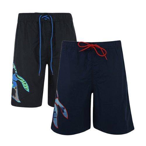 Canterbury-Pantaloncini da mare, motivo mimetico Nero