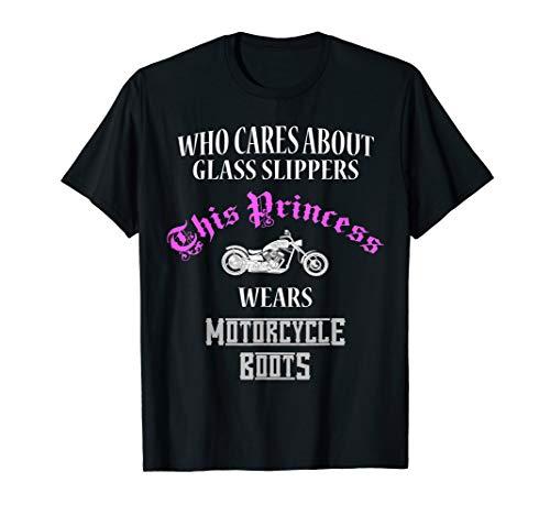 �gt Motorradstiefel nicht Glas Pantoffel T-Shirt ()