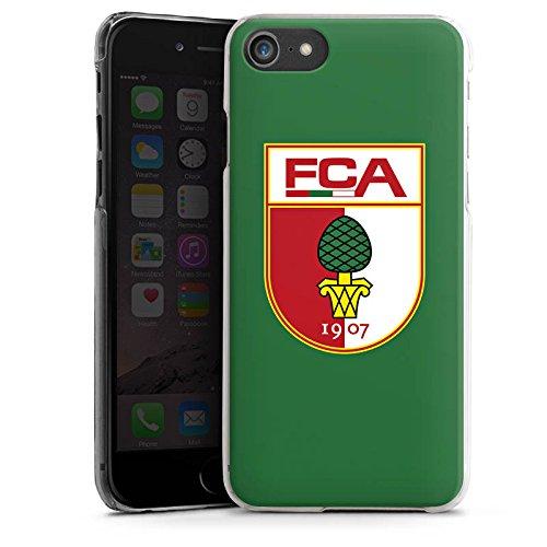 Apple iPhone X Silikon Hülle Case Schutzhülle FC Augsburg Fanartikel Fußball Hard Case transparent