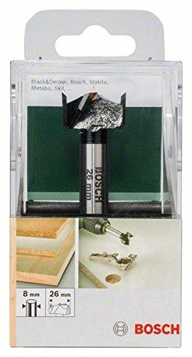 Bosch 2 609 255 281 - Broca artesanal de HM (metal duro), DIN 7483 G