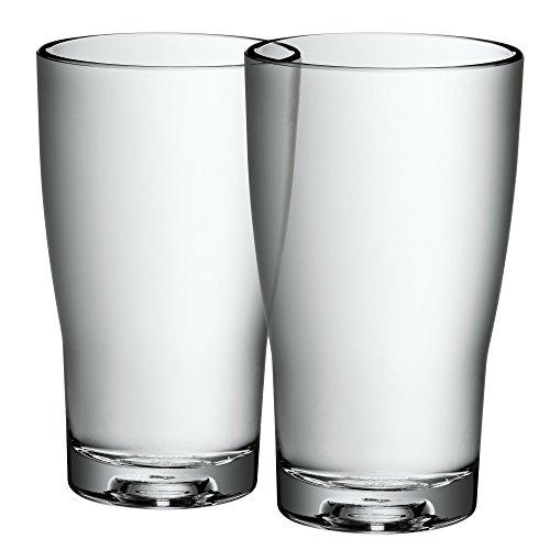 WMF - Juego de 2 vasos de cristal para agua, 0,27l - 13cm, colección Basic