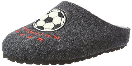 Supersoft Jungen 542 166 Pantoffeln, Grau (Dk Grey), 29 EU