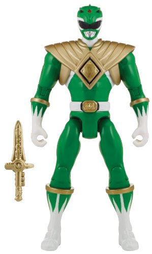 Power Rangers Super Megaforce - Mighty Morphin Green Ranger Action Hero, 5-Inch by Power Rangers