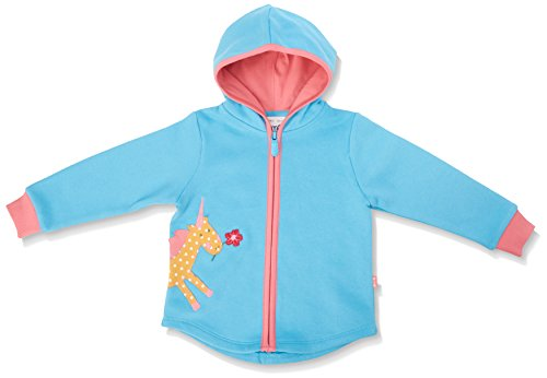 Kite Kite Baby-Mädchen Kapuzenpullover Lulworth Hoody-BG525 Blue (Azure) 0-3 Monate