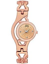 Louis Geneve Mettellica Series Analog Watch For Women (COPPER-56)