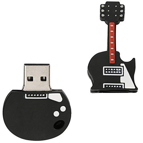 MagiDeal Flash Drive en Forma de Guitarra Eléctrica USB 2,0 Memoria Compatibilidad Universal 32GB