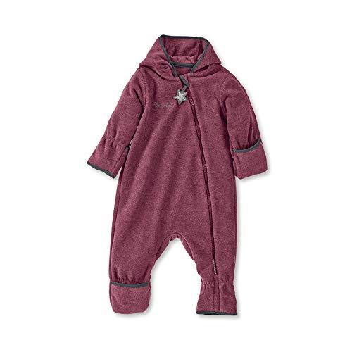 Sterntaler Fleece-Overall für Jungen und Mädchen mit Reißverschluss, Alter: 12-18 Monate, Größe: 86, Lila