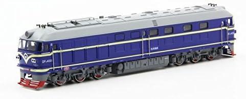 Akrobo Kid's Brass 2 Sides Walk Musical DF 4B Diesel Locomotive Toy (Multicolour, AK22889)