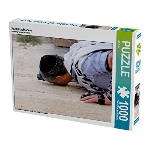 CALVENDO Puzzle Kontaktaufnahme 1000 Teile Lege-Größe 64 x 48 cm Foto-Puzzle Bild von GT Color