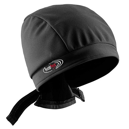 hairtex Stall-Mütze mit Bändern | schützt zuverlässig vor Stallgeruch | für Jede Frisur und Haarlänge geeignet (schwarz, M) -