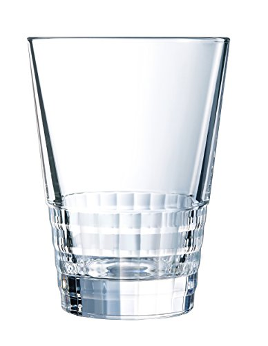 Cristal d'Arques L7955 Set de 4 Gobelets, Transparent