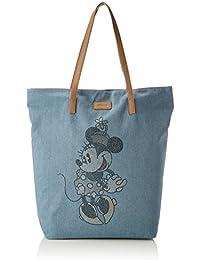 81121609, Womens Backpack Handbag, Blau (Light Blue), 12x45x30 cm (B x H T) Codello