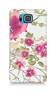 Amez designer printed 3d premium high quality back case cover for Samsung Galaxy Alpha (pastel blur)