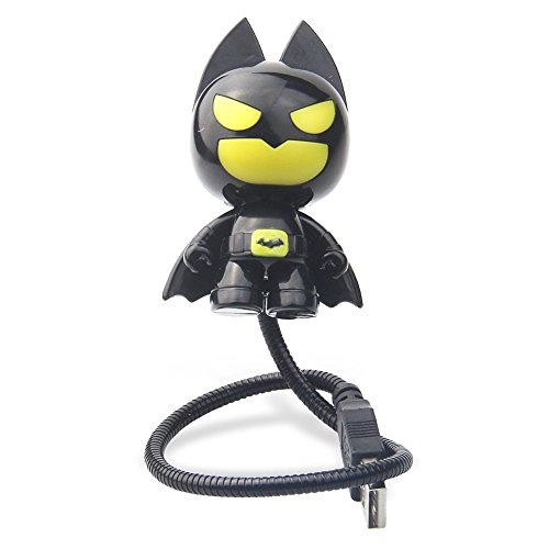 Premium Energy Saving Astronaut Batman USB LED Adjustable Night Light Computer Laptop...