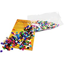 La Manufacture du Pixel - Pixel Art, Loisir Créatif, Mosaïque, Fun ! - Créez à l'infini tout l'art qui vous ressemble - Collection Étain - 900 carrés pixels multicolore