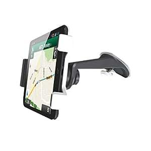 Exelium - Support universel voiture pare brise/ tableau de bord pour tablettes de 7'' à 13''