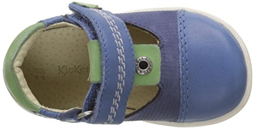 Kickers Tropico, Chaussures Bébé marche bébé garçon Bleu (Marine)
