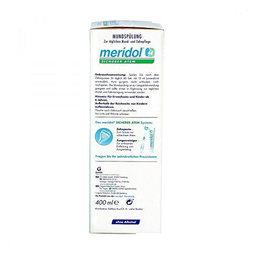 meridol SICHERER ATEM Mundspülung, 400 ml - 2