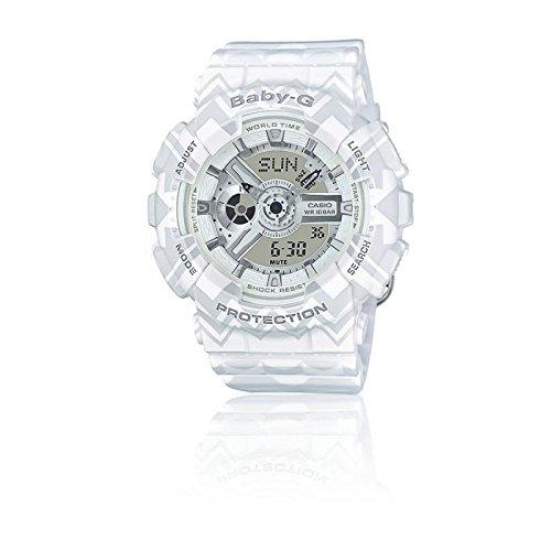CASIO Herren Analog-Digital Quarz Smart Watch Armbanduhr mit Plastik Armband BA-110TP-7AER