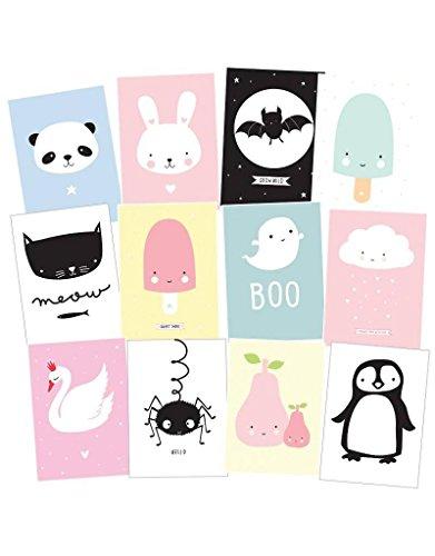 any Postcard 12er-Set, Cute Kids (Cute Kids)