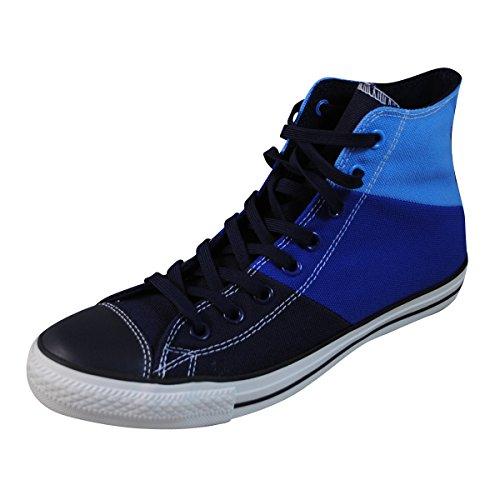 Converse CT Tri Panel HI Navy Blue Womens Trainers - Dozar Blue/Radio Blue/Smalt Blue
