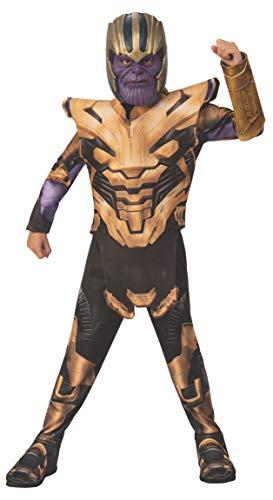 Rubies - Disfraz Oficial de Los Vengadores de Endgame Thanos, clásico, para niños, tamaño Grande, 8 a 10 años, Altura 147 cm