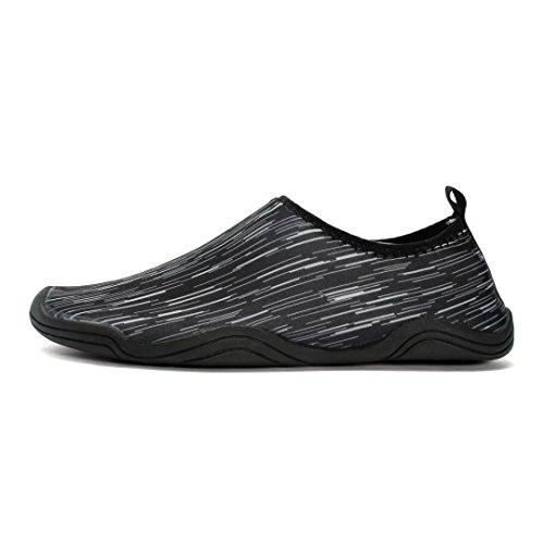 JoansamWater Shoes - Sandali con Zeppa donna Black