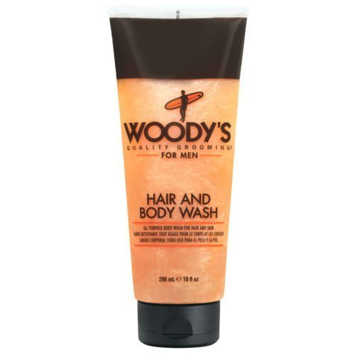 Woody 's quality Grooming for Men Hair and Body Wash 10 Ounces by Woody' s