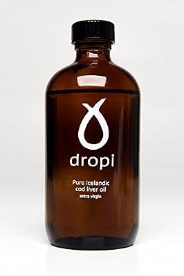Dropi 220 ml Pure Icelandic Extra Virgin Cod Liver Oil