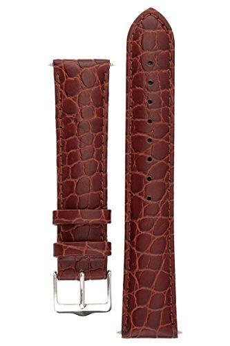 signature-siena-armbanduhr-band-ersatz-uhrenarmband-echtleder-silber-schnalle