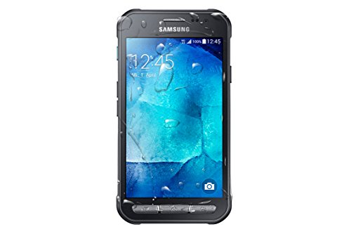 Samsung Galaxy Xcover 3 Handy (4,5 Zoll (11,4 cm) Touch-Display, 8 GB Speicher, Android 4.4) dunkelsilber - Samsung Alpha Display