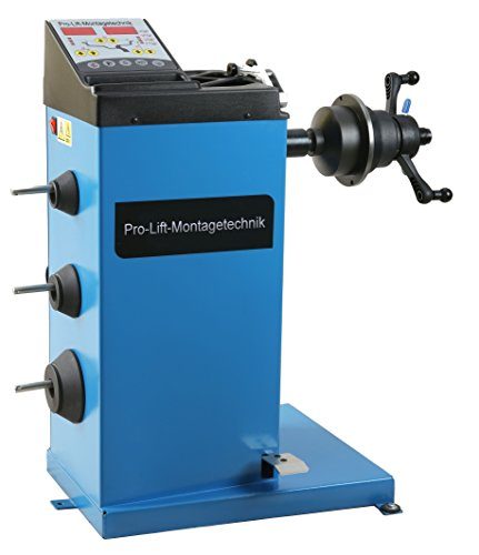 Pro-Lift-Montagetechnik Einsteigermodell Reifenauswuchtmaschine, 10