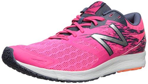 New Balance Flash, Zapatillas de Atletismo para Mujer, Varios Colores (Thunder/Mulberry), 36.5 EU