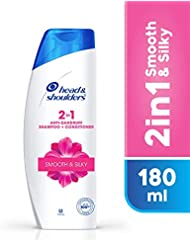 Head & Shoulders Smooth and Silky 2-in-1 Shampoo + Conditioner, 180ml