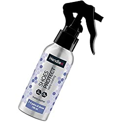 Hendlex Wildleder Nano Spray Imprägnierspray Schuhe Für Nubuk Lederpflege und Wildleder pflege 100ml
